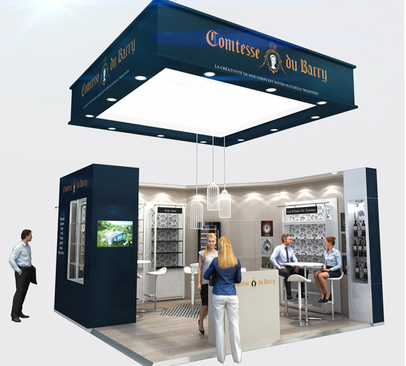Stand Comtesse du Barry au Salon Franchise Expo Paris 2016