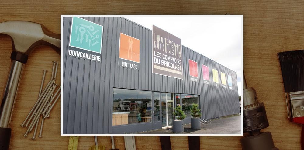 Bricodistribution lance les comptoirs du bricolage et - Les comptoirs du bricolage ...