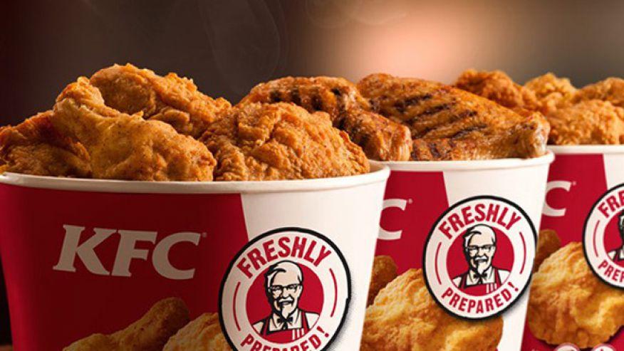 Concept KFC Le poulet
