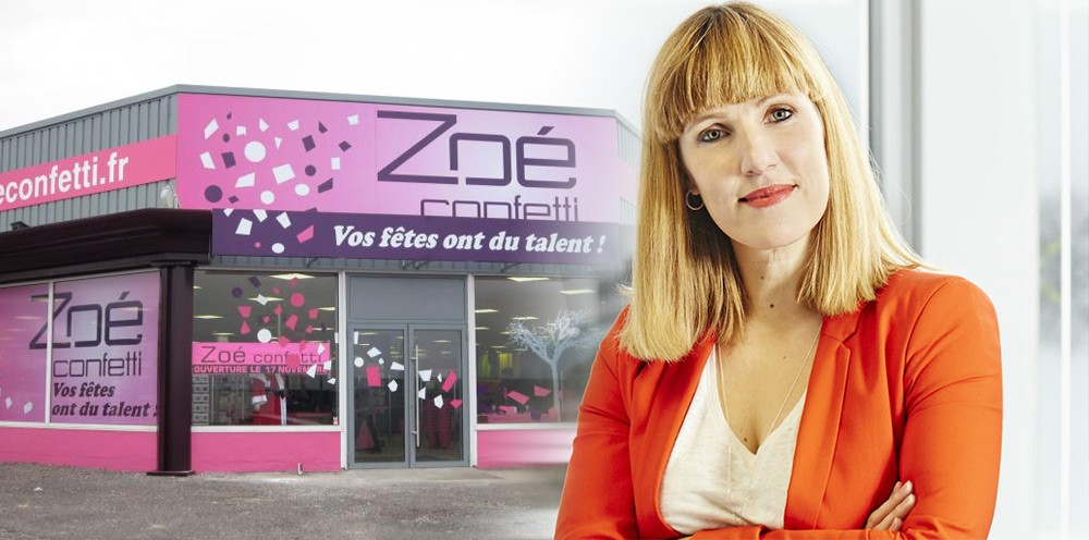 interview de nathalie grand cl ment pdg de zo confetti hello franchise. Black Bedroom Furniture Sets. Home Design Ideas